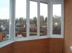 Metalplastic windows