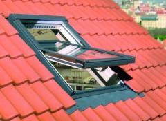 Windows for a roof metalplastic
