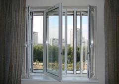 Windows are metalplastic sound-proof