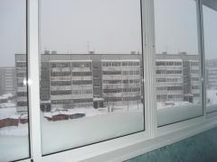 Windows plastic two-chamber Kharkiv