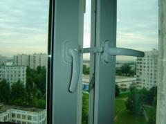 Windows plastic three-chambered Kharkiv
