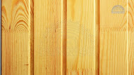 Natural wooden wall panel -  covering by wall