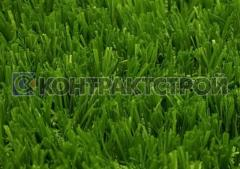 Artificial grass for a football field the