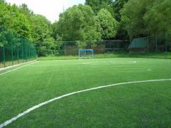 Artificial grass for pass soccer, tennis,