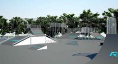 Скейт-парки под открытым небом