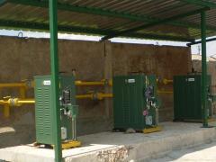 Evaporators for for liquefied gas