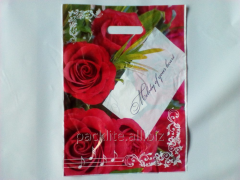 Plastic bags with drawing (The package of the
