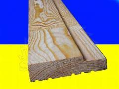 Коробка дверная деревянная для межкомнатных дверей 80 мм