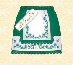 Voloshki's skirt (it is green, 4-6 rok_v)