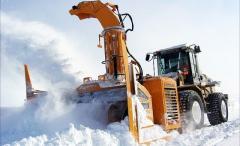 Автономное фрезерно-роторное снегоуборочное