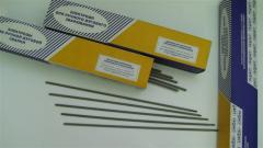 Electrodes for welding diverse staly TsT-28
