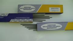 Electrodes for welding heat-resistant staly OZL-9A