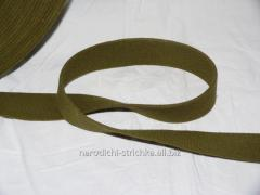 The tape is cotton belt. ART. 0804