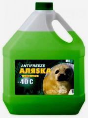 Антифриз Аляска Antifreeze-40 зелений 10л