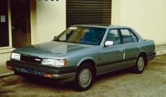 Колодка тормозная Mazda 929 2.0I, 2.2I, 3.0I -91