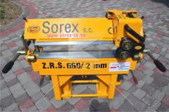 Кромкогиб для металла (Листогибочный станок) Sorex