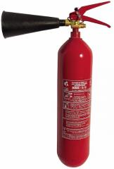 The fire extinguisher carbon dioxide OU-3...