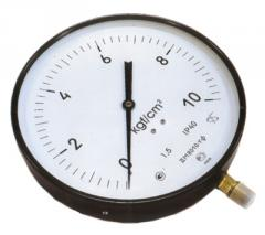 Compound pressure gages