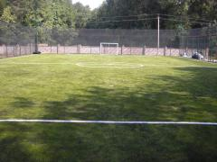Construction of football fields, construction of