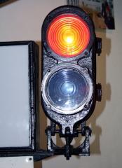 Subway traffic lights