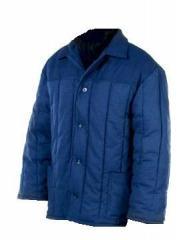Jacket the warmed worker