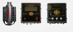 Flow meters for the vapor