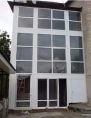 Металлопластиковые окна, двери, балконы под ключ