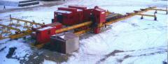 Trubosvarochny BTS-142V base. The equipment is