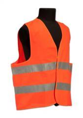 Vests are alarm