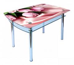 Table glass kitchen KS-4