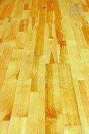 The parquet is pine