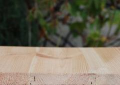 Boards of wooden floor pine
