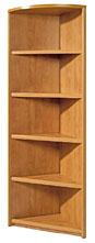 Шкаф-библиотека угловой открытый