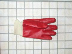 Gloves are nitrile