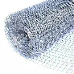 Stainless welded mesh of 150x150 mm