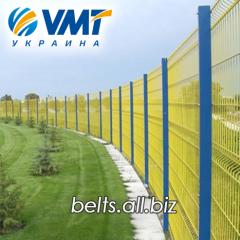 Системы ограждения, забор из сетки, секции