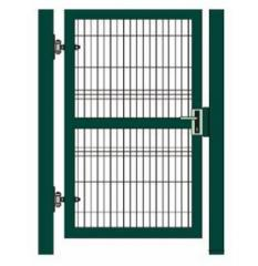 Gates of welded wire mesh