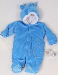 Комбінезон Мишутка (блакитний) від Brilliant Baby