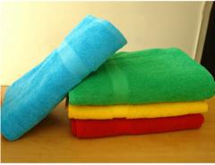 Bathing accessories terry towels