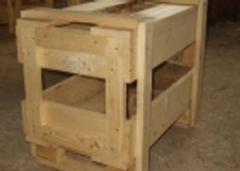 Embalaje de madera de transporte