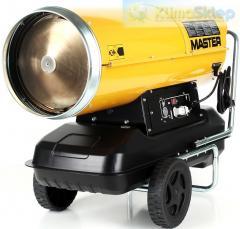 The diesel Master heat gun with direct heating B