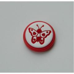 "Button attached ""BUTTERFLY"" - 12 mm"