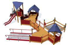 Игровое оборудование для детей с ограниченными