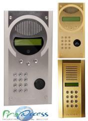 Wireless multiroom Intratone on-door speakerphones