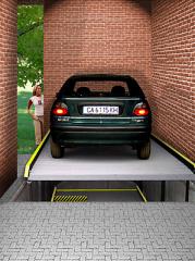 Parkings are underground