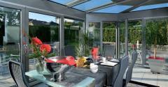 Зимний сад - жемчужина вашего дома. Алюминиевые
