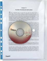 The folder on the A4 button, with perforation + CD