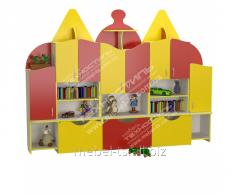 """Стенка детская для игрушек """"Домик 2"""""""