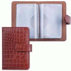 Card holder, packing for plastic cards