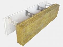 Комблок с минераловатной панелью
